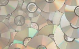 cds混乱 免版税库存图片