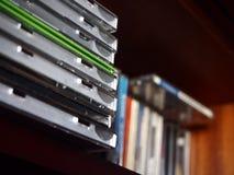 CDs音乐 库存照片