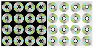 cds предпосылки Стоковые Фотографии RF