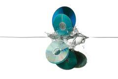 cds старые стоковая фотография rf