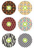 cds цветастые Стоковая Фотография
