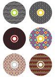 cds цветастые Стоковые Фотографии RF
