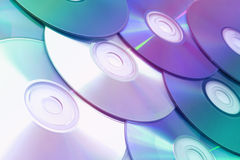 CDs. Close-up of CDs background royalty free stock image
