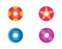 cds abstrakcjonistyczni dvds Zdjęcie Royalty Free