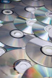 CDs background Royalty Free Stock Photos