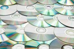 CDs background Royalty Free Stock Images