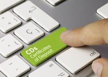 Free CDs Certificates Of Deposit - Inscription On Green Keyboard Key Stock Photo - 165220380