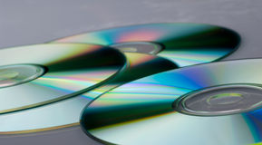 CDs DVDs Royalty Free Stock Photos