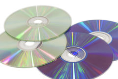 CDs and DVDs Royalty Free Stock Images