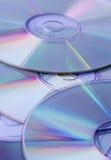 CDs gekleurde Achtergrond, Stock Foto's