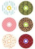 cds kolorowi Fotografia Royalty Free