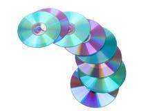 cds kolorowi compacs dyski Zdjęcie Royalty Free