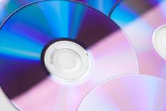 cds stänger färgrikt övre Fotografering för Bildbyråer