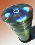 cds staplar högväxt Arkivbilder