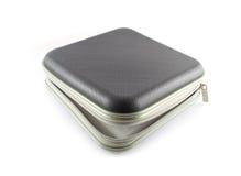CDtaschen-Weißhintergrund lizenzfreie stockfotografie