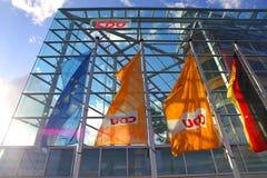 cdu здания Стоковая Фотография
