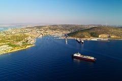 CeÅŸme-Bucht - Izmir - die Türkei lizenzfreie stockfotos