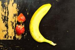 Ceño fruncido de la fruta Foto de archivo libre de regalías