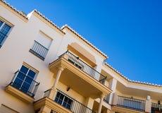 $ce-andalusisch architectuur Stock Afbeeldingen