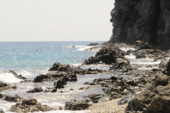 $ce-andalusisch stranden Stock Foto's