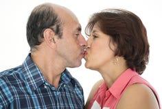 Ce couple toujours dans l'amour Images libres de droits