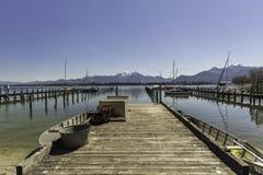 Ce lac est impressionnant Photos libres de droits