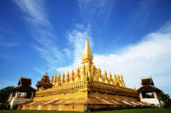 Ce Luang Stupa, ou ka Chulamani de Lo Photo libre de droits