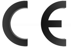 CE marking Royalty Free Stock Photo