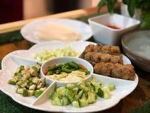 """Ce menu dans l'appel """"Nam Neung """"de la Thaïlande photos stock"""