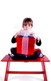 Ce que je veux pour Noël Photographie stock
