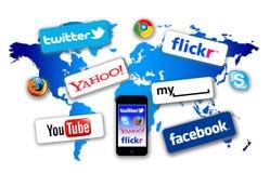 Ce qui est sur votre réseau Photo libre de droits