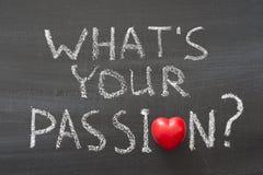 Ce qui est votre passion Photo libre de droits