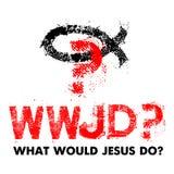 Ce qui Jesus Do Illustration chrétienne illustration stock