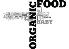 Ce qui le nuage de Heck Is Organic Food Anyway Word Photo stock