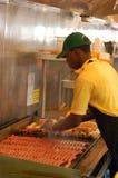Ce ` s beaucoup de hot-dogs Photographie stock libre de droits
