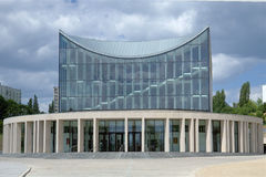 CEA Gorzow Wielkopolski Philharmonic. Building of Artistic Education Center Gorzow Wielkopolski Philharmonic Royalty Free Stock Images