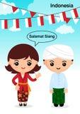 CEA Indonésia ilustração royalty free