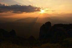 Ceahlau massif, Eastern Carpathians,  Romania. Ceahlau massif, Eastern Carpathians, Moldova, Romania Stock Photography