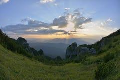 Ceahlau massif, Eastern Carpathians, Romania. Ceahlau massif, Eastern Carpathians, Moldova, Romania Royalty Free Stock Images