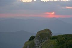 Ceahlau massif, Eastern Carpathians, Romania. Ceahlau massif, Eastern Carpathians, Moldova, Romania Royalty Free Stock Photography