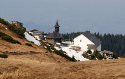 Ceahlau Monastery in Romania Royalty Free Stock Photography