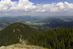 Ceahlau Mountain. Landscape in Ceahlau Mountain, Romania Stock Photos