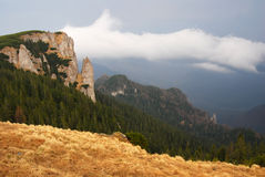 Ceahlau mountains in Romania Royalty Free Stock Images