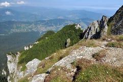 Ceahlau mountains, Romania. The Ceahlau massif, Eastern Carpathians, Moldova, Romania Stock Photos