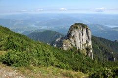 Ceahlau mountains, Romania. The Ceahlau massif, Eastern Carpathians, Moldova, Romania Stock Photo