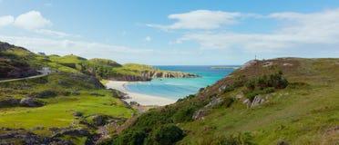 Ceannabienne海滩,苏格兰高地 库存图片