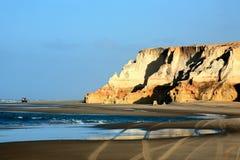Ceara el Brasil de los fontes del das del Praia Imagen de archivo