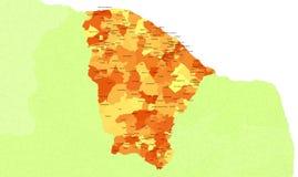 Ceara Zustand - Brasilien Lizenzfreie Stockfotografie