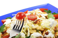 Ceasar Chicken Salad Royalty Free Stock Image