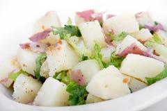 Ceasar potato salad. Side dish stock photography
